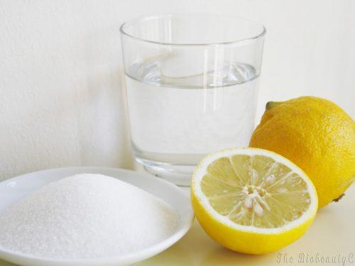 Zucchero, limone e patate: idee naturali di Bellezza