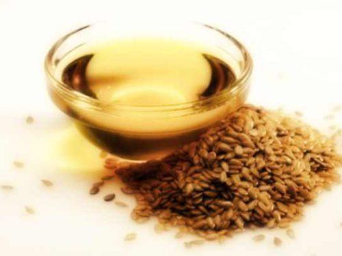 Olio semi di lino per capelli più belli