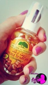 Ecco il mio ultimo olio di Argan acquistato direttamente a Marrakesh!