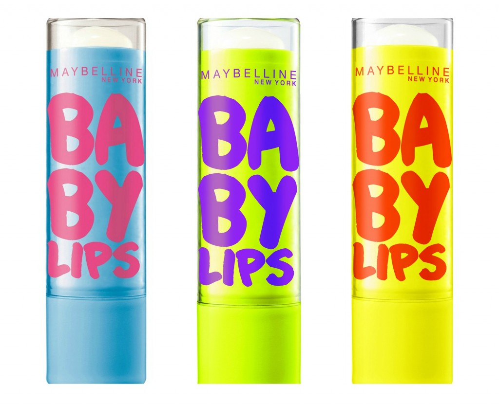 Baby Lips trasparenti: Mandorla, Mentolo e Lime