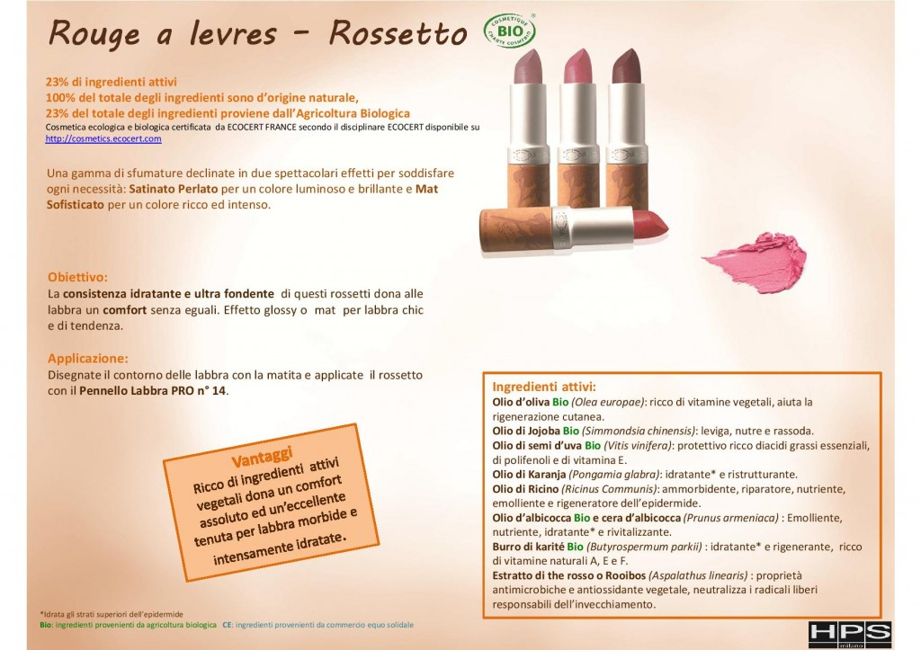 rossetto couleur caramel