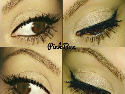 Couleur Caramel speciale trucco occhi! Matite, ombretto e glitter!
