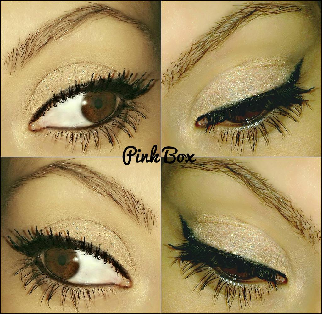 couleur caramel trucco occhi