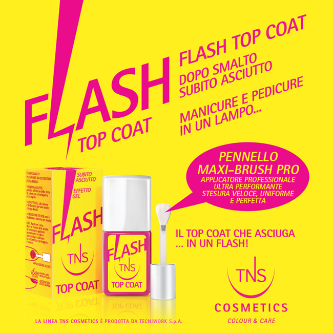 flash top coat tns