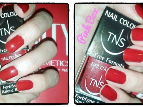 Smalti TNS Cosmetics – Red Vanity Collection