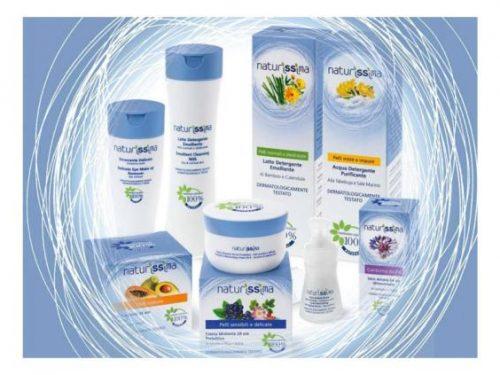 Naturissima, linea cosmetica con ingredienti naturali al 100% certificati