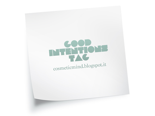 Tag: Good Blogging Intentions (2015)