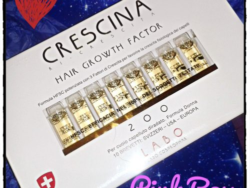 Crescina Ri-Crescita Hair Growth Factor – Formula Donna (Review)