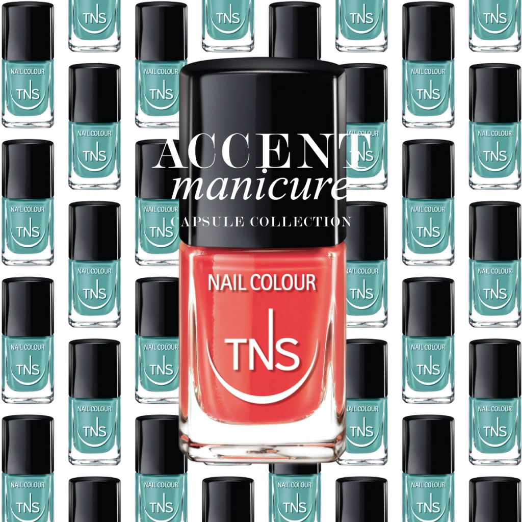 Lovely Red tns cosmetics accent manicure