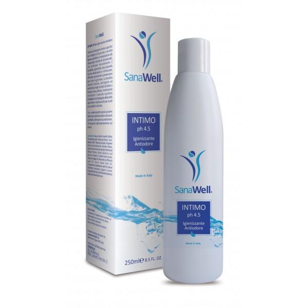 detergente intimo ph 4.5 sanawell