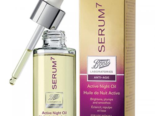 Serum7 Olio Attivo Notte by Boots Laboratories (Review)