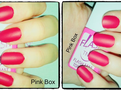 TNS Cosmetics: i nuovi FLASH TOP COAT MAT e FLUO!