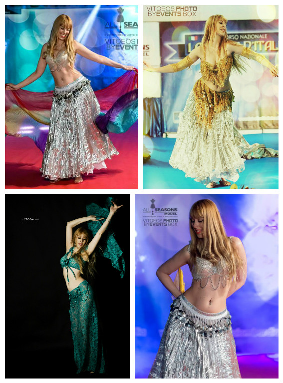 Corsi di Danza del Ventre, Burlesque Dance e Canto Moderno by Patty Lily
