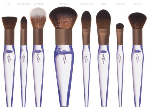Crystal Flawless brushes, i nuovi pennelli firmati Neve Cosmetics