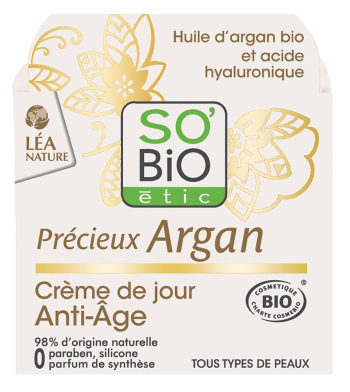 Crema Précieux Argan SO Bio Etic