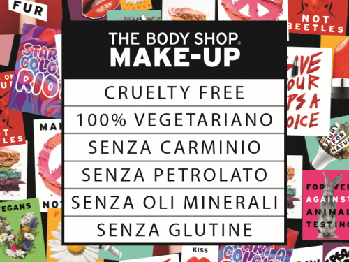 Alzati e Spicca con le novità The Body Shop Make Up 2017