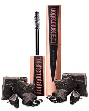 Nuovo Mascara Total Temptation Maybelline al profumo di cioccolato!
